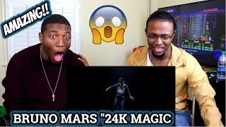 Video Bruno Mars - 24K Magic [American Music Awards Performance] (REACTION) MP3, 3GP, MP4, WEBM, AVI, FLV Januari 2018