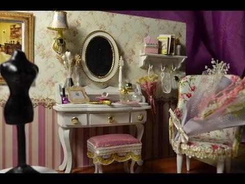 Кукольный туалетный столик своими руками 95