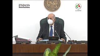 Le Président Abdelmadjid Tebboune préside une réunion du Conseil des ministres