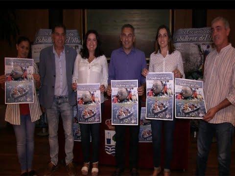 Presentación IV Encuentro Caballeros del Mar (Isla Cristina).