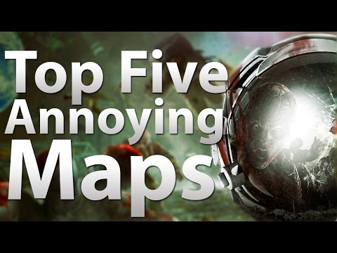 Duty - 'TOP 5' Annoying Maps Die in 'Call of Duty Zombies' -
