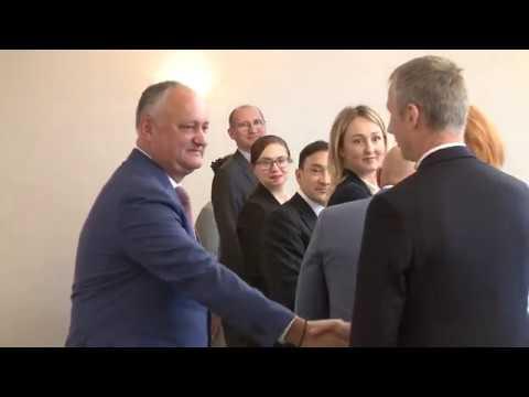 Igor Dodon a avut o întrevedere cu conducătorii băncilor comerciale