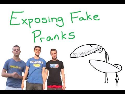 GradeAUnderA Exposing Fake Pranks