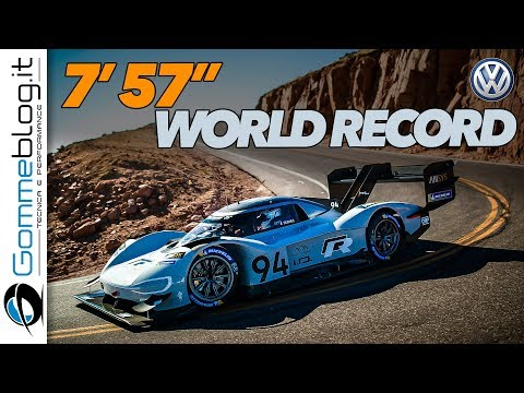 Pikes Peak 2018 - Volkswagen I.D. R WORLD RECORD 7'57