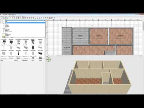 Criando uma casa em 3D em 30 minutos (Sweet Home 3D)