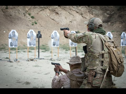 Tactics, Techniques, and Procedures – Hand Gun & Rifle Training (Footage)