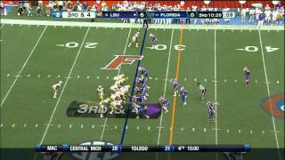 Matt Elam vs LSU (2012)