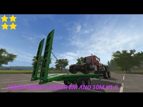 Joskin Wago Loader 8M and 10M v1.0