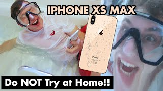 Video NEW iPhone XS Max UNDERWATER Camera Test (Please don't break...) MP3, 3GP, MP4, WEBM, AVI, FLV Agustus 2019