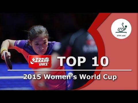 DHS ITTF Top 10 - 2015 Women's World Cup