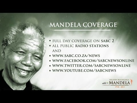 SABC TV Live Stream Coverage: Nelson Mandela tribute, 6 Dec 2013 (1)