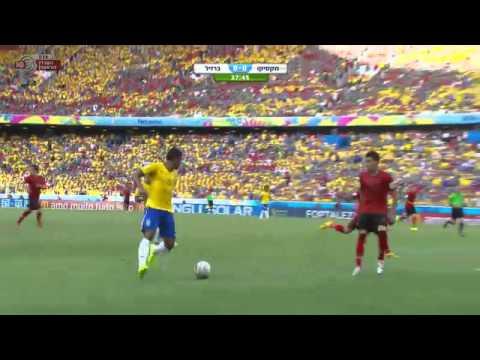 מונדיאל 2014 – ברזיל מול מקסיקו – 17.06.14 ,22-00
