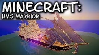 Minecraft: HMS Warrior - Part 2 Advanced Sail Masterclass