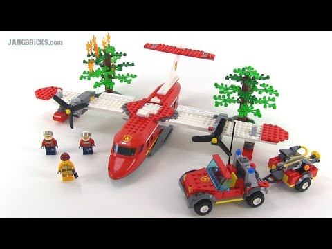LEGO City Fire Plane review! set 4209