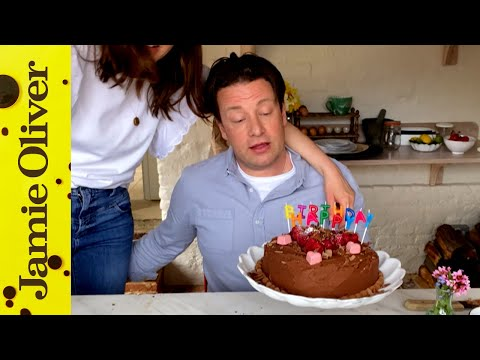 Homemade Celebration Cake | Keep Cooking & Carry On | Jamie Oliver #withme
