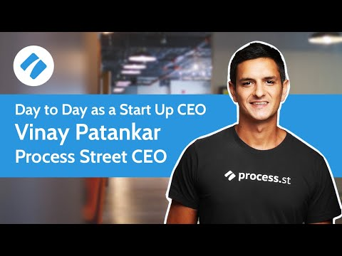 Watch 'Day to Day as a Start Up CEO'