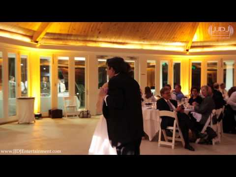 Wedding Reception at the Airlie Center - Warrenton, VA with JJDJ Entertainment Father Daughter Dance