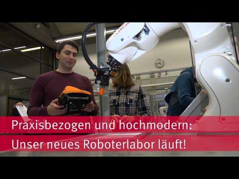 Neues Roboterlabor an der HsKA