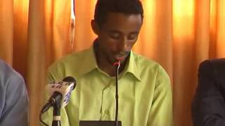 Ethiopian Visionary Youth Press Conference In Addis Abeba