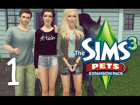 animaux et cie - ³ Lis-Moi ♢³ → Excusez-moi pour ma voix non-enjouée... c'est régler dans les prochaines vidéos ;) → Gameplay des Sims 3 Animaux & Cie: Aujourd'hui nous nous...