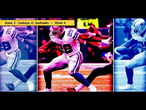 Cowboys vs. Seahawks Week 6 highlights (#2 game in 2014)