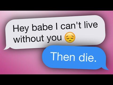The 10 Best Responses To Flirty Texts (видео)