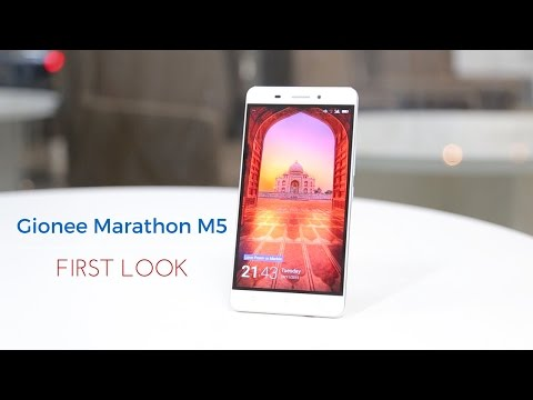 First Look: Gionee Marathon M5