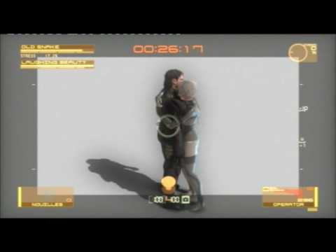 metal gear solid 4 cutscenes 1080p monitor