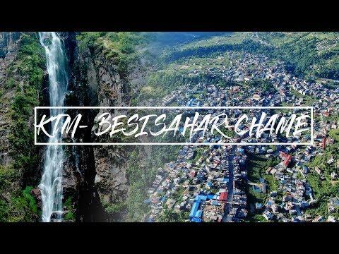 MANANG RIDE (DAY 1 ) | KTM-BESISAHAR TO CHAME | Travel Nepal