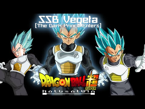 DBS: SSB Vegeta (The Dark Prince Enters) - HalusaTwin
