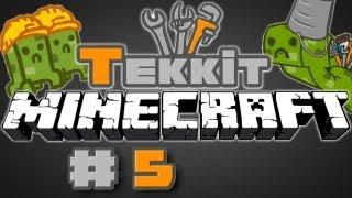 Minecraft Tekkit Let's Play Episode 5 - MINERALS A PLENTY&ELECTRIC CIRCUITS!!
