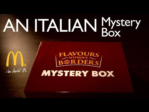 India Food Network Unboxing McDonald's Mystery Box  – An Italian Surprise