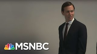 Jared Kushner, who declared he did not collude with Russia, is returning to the Hill for a second day on Tuesday to speak with the House Intel Committee.