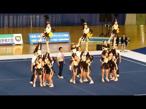 女子聖学院中学校 VIGORS・A 関東チアリーディング選手権2016