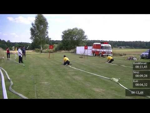 SDH Chýnov - THL Chotěmice 10.8.2013 - 19,59s FINÁLE