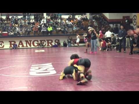 Texas 2-5A High School Girls Wrestling District Champ (видео)
