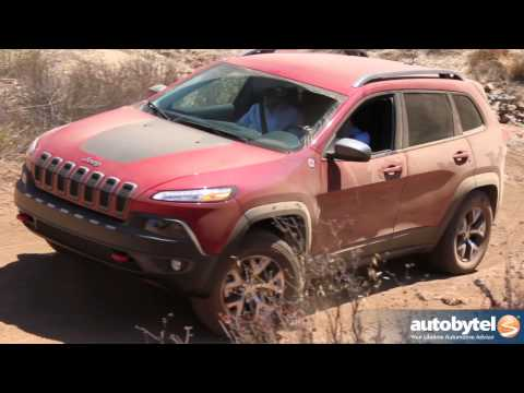 2014 Jeep Cherokee Trailhawk 4WD Drivetrain Technology Review — Best-In-Class 4x4 Capability