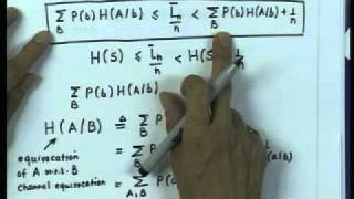Mod-01 Lec-21 Equivocation And Mutual Information