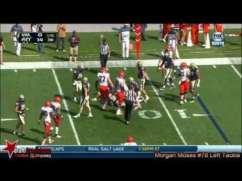Morgan Moses vs Pittsburgh 2013 video.