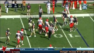 Morgan Moses vs Pittsburgh (2013)