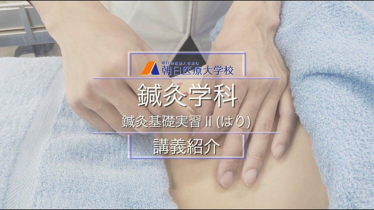 鍼灸学科 講義紹介 鍼灸基礎実習Ⅱ(はり)