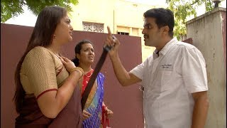 On coming to know true colors and games of Gayathri, Kumar turns furious and loses his patience against Gayathri and starts to slap and chase her out of Jai Hind Vilas with belt beats for her and her sister.  Watch the mass action of Kumar in this video.Subscribe: http://goo.gl/yeOTw3Best of Deivamagal: https://goo.gl/GnH8CjDeivamagal All Episodes: http://goo.gl/5hKXU7Channel:    http://www.youtube.com/user/VikatanTVFacebook: https://www.facebook.com/deivamagal