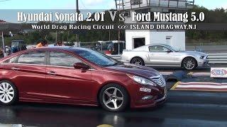 Nonton Hyundai Sonata 2 0t Vs  Ford Mustang 5 0 Film Subtitle Indonesia Streaming Movie Download