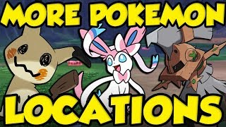 WILD EEVEELUTIONS - TYPE NULL - MIMIKYU LOCATION And MORE! Rare Pokemon Sword and Shield Locations by Verlisify