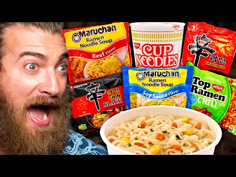 What's The Best Instant Ramen Noodle? (Taste Test)