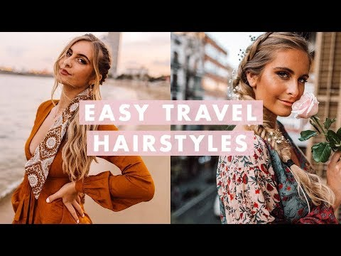 Short hair styles - 3 Insta-Worthy Travel Hairstyles