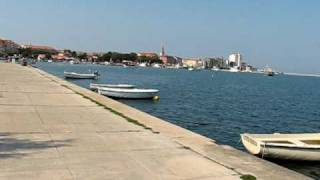 Umag Croatia  City pictures : Umag Croatia - traveling to town center with riksha