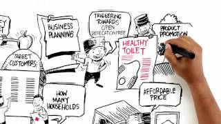 This 4-min video overview of the sanitation business model in Indonesia illustrates a one-stop shop sanitation business model...
