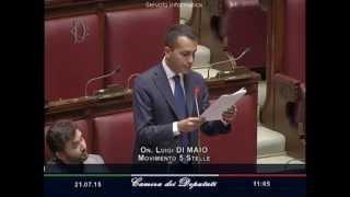 Luigi Di Maio: L'uomo libero, per voi è un uomo pericoloso