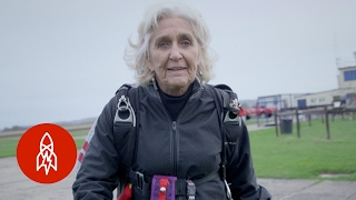 The 82-Year-Old Skydiver